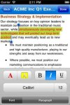 Quickoffice® for iPhone screenshot 4/6