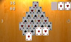 Smooth Pyramid Solitaire screenshot 3/3
