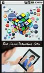 Social Network Sites screenshot 1/2