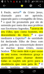 Bíblia Sagrada -  Portuguese Bible screenshot 3/3