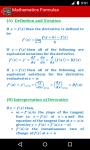 Mathematics Formulas screenshot 5/6
