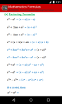 Mathematics Formulas screenshot 6/6