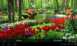 3D Garden Live Wallpaper screenshot 1/5