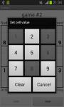 Droida Sudoku screenshot 3/4