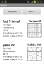 Droida Sudoku screenshot 4/4