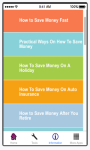 How To Save Money Fast screenshot 3/6