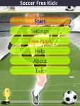 Soccer Freee Kick screenshot 2/6