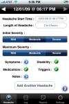 iHeadache - Free Headache & Migraine Diary App screenshot 1/1