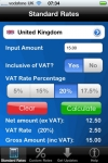 Calc VAT  UK VAT Calculator screenshot 1/1