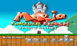 Mario Forever Flash screenshot 1/6