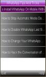WhatsApp Latest Tricks and Tips  screenshot 1/1
