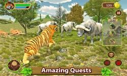 Furious Tiger Simulator screenshot 1/5