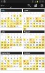 Business Calendar Pro maximum screenshot 4/6