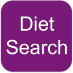 Diet Search App screenshot 1/1