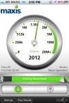 Maxis Mobile Speed Test screenshot 1/1