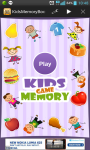Kids Memory Game -Match Puzzle screenshot 1/3