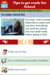 Tips to get ready for School screenshot 5/5