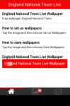 England National Team Live Wallpaper screenshot 2/6
