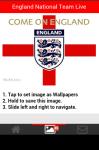 England National Team Live Wallpaper screenshot 5/6