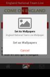 England National Team Live Wallpaper screenshot 6/6