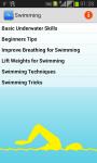 Swimming Track screenshot 1/3