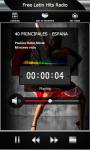 Free Latin Hits Radio screenshot 3/6