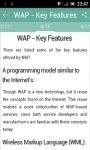 Learn WAP screenshot 2/3