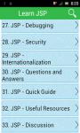 Learn JSP screenshot 1/3