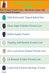 Best Women Trench Coats screenshot 2/3