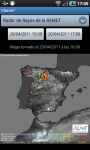 Chove Radar de lluvia screenshot 3/6
