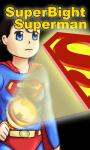 Superman BrightFree Flashlight free screenshot 4/5