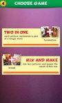 2 Pics 1 Word: Mix Pics Puzzle screenshot 1/6