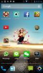 Avril Lavigne Clock Widget screenshot 1/4