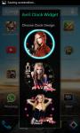 Avril Lavigne Clock Widget screenshot 2/4