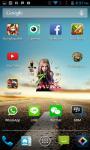 Avril Lavigne Clock Widget screenshot 3/4