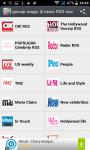 gossip magazines and news RSS reader screenshot 1/5