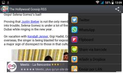 gossip magazines and news RSS reader screenshot 5/5