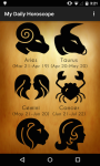 My Daily Horoscope 2015 screenshot 1/6