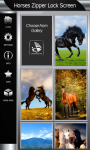 Horses Zipper Lock Screen Best screenshot 4/6