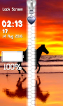 Horses Zipper Lock Screen Best screenshot 5/6