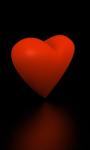 Rotating Valentine heart live-wallpaper screenshot 1/5