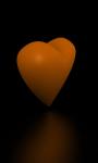 Rotating Valentine heart live-wallpaper screenshot 3/5
