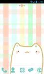 Cute Cats GO Launcher Theme screenshot 2/4