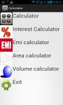 Multipurpose calculator screenshot 1/5