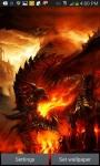 FLAMING DRAGON LWP screenshot 1/3