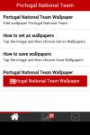 Portugal National Team Wallpaper screenshot 2/6