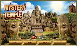 Free Hidden Object Games - Mystery Temple screenshot 1/4