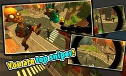 Zombie Town Sniper Shooting screenshot 2/2