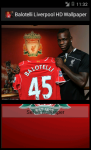 Balotelli Liverpool HD Wallpaper screenshot 3/5