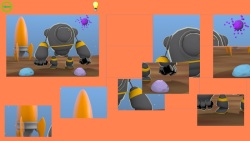 Cartoon Robot Puzzle screenshot 2/3